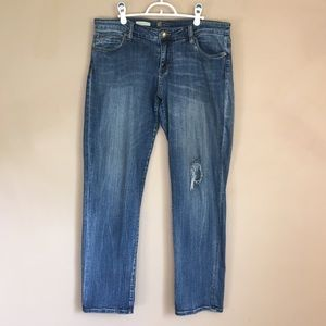 Kut Jeans Size 12 Catherine Boyfriend Fit 38x30.5